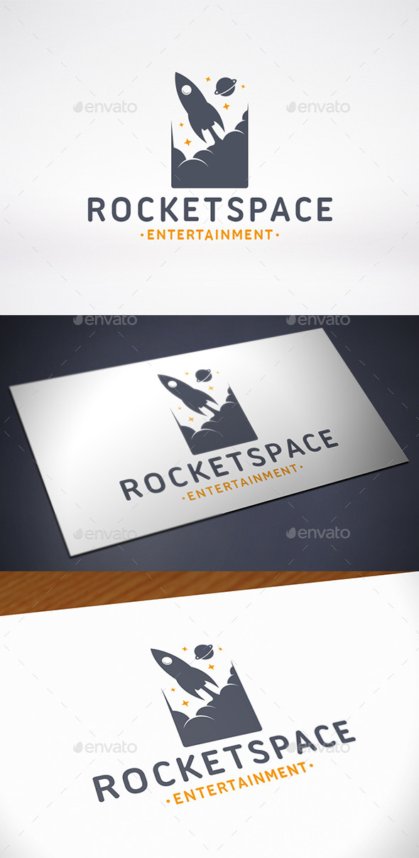 GraphicRiver Rocket Space Logo Template 10788284