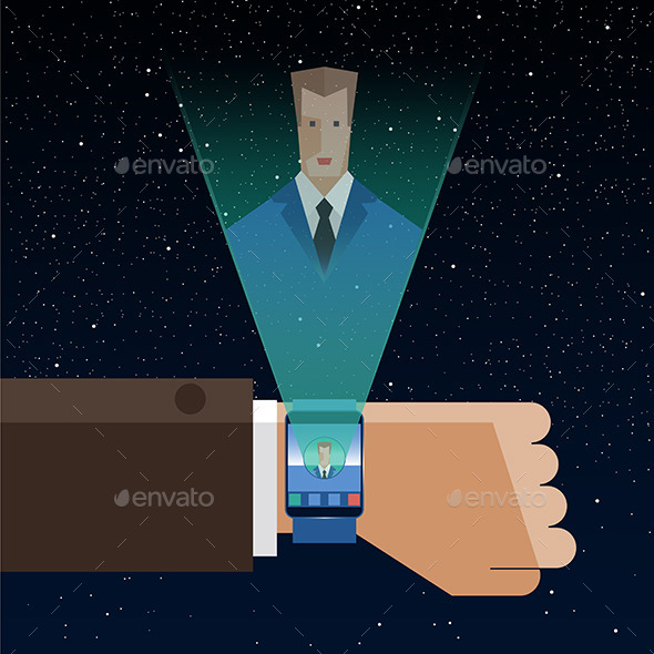 GraphicRiver Smart Watch 10788316