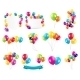 Color Glossy Balloons Set - GraphicRiver Item for Sale