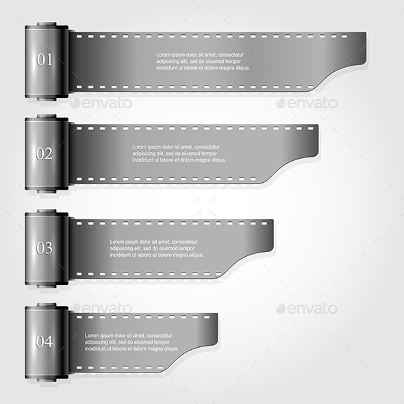 GraphicRiver Infographics from a film 10788793