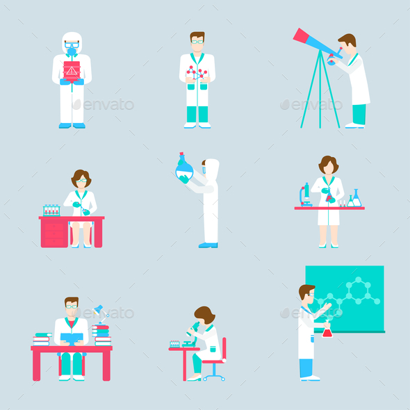 GraphicRiver Science Research Lab 10788827