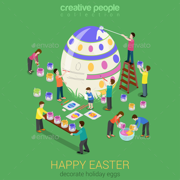 GraphicRiver Easter Egg Painting 10788828