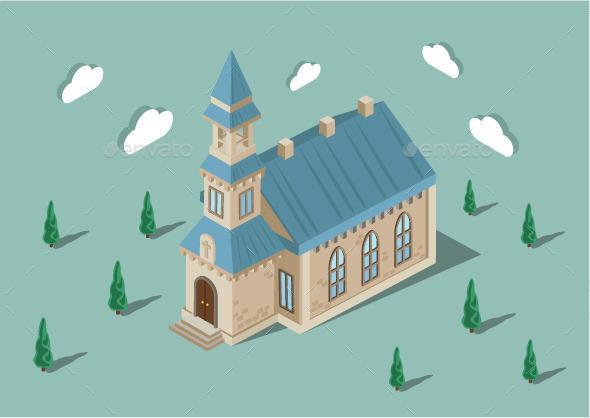 GraphicRiver Church 10789030