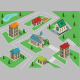 Isometric Town  - GraphicRiver Item for Sale