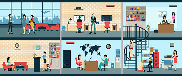 GraphicRiver Workplace 10789294