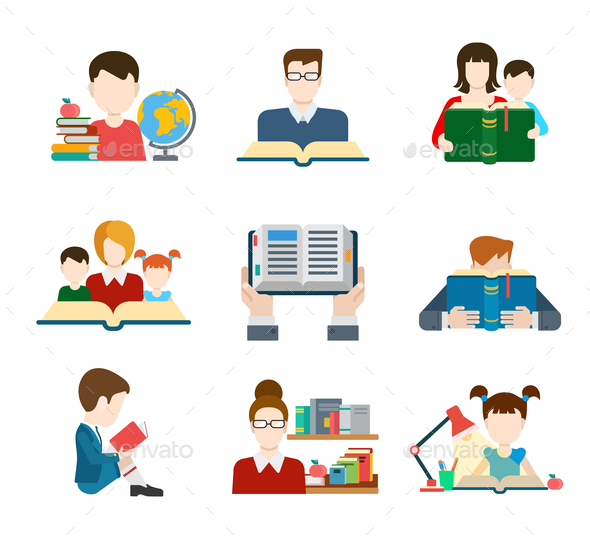 GraphicRiver Education Symbols 10789427