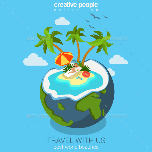GraphicRiver Travel 10789439