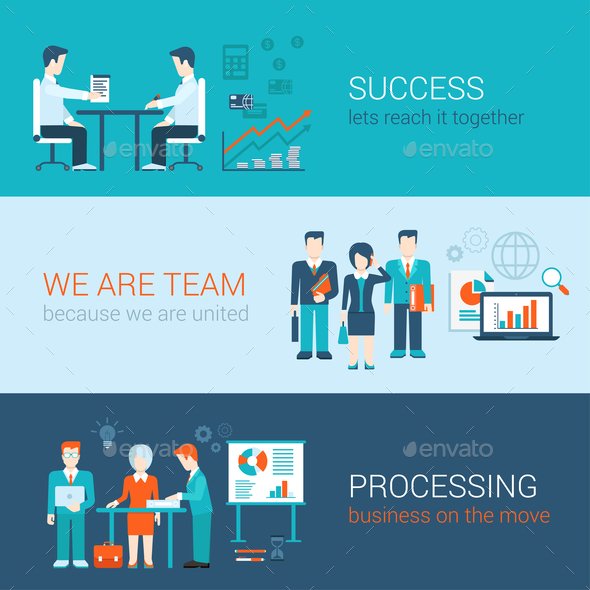 GraphicRiver Teamwork Concept 10789440