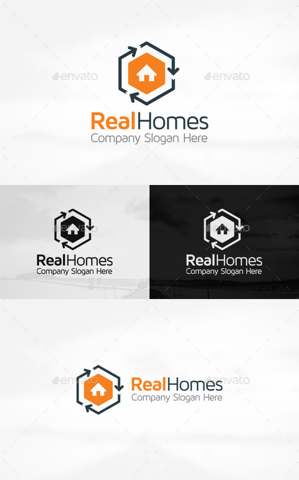 GraphicRiver Real Estate Logo 10789599