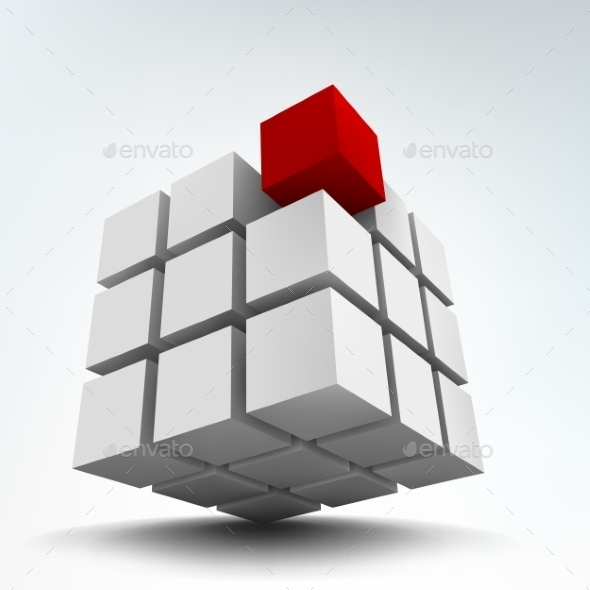 GraphicRiver 3D Cube 10789613
