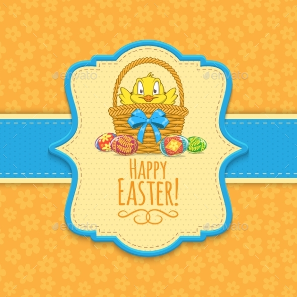 GraphicRiver Easter Background 10789630