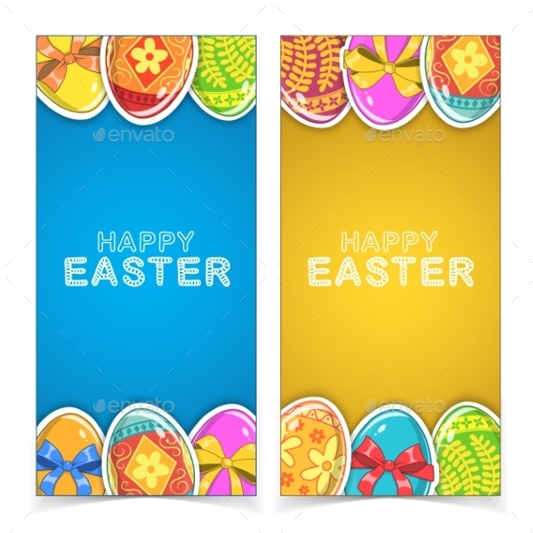 GraphicRiver Easter Banners 10789632
