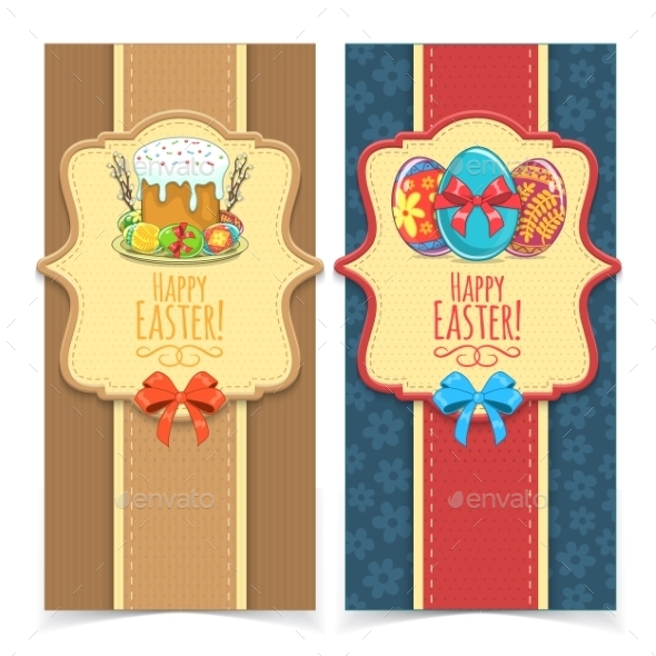 GraphicRiver Easter Banners 10789633