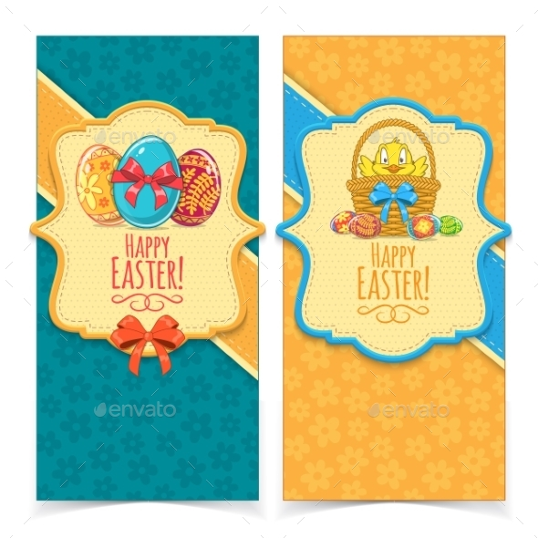 GraphicRiver Easter Banners 10789636