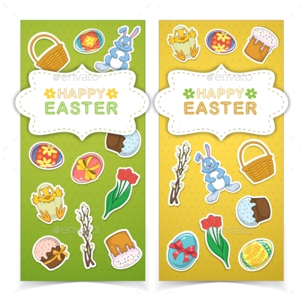 GraphicRiver Easter Banners 10789645