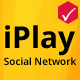 iPlay Social Network - Create playlists and share - CodeCanyon Item for Sale