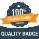 Premium Quality Badge - GraphicRiver Item for Sale