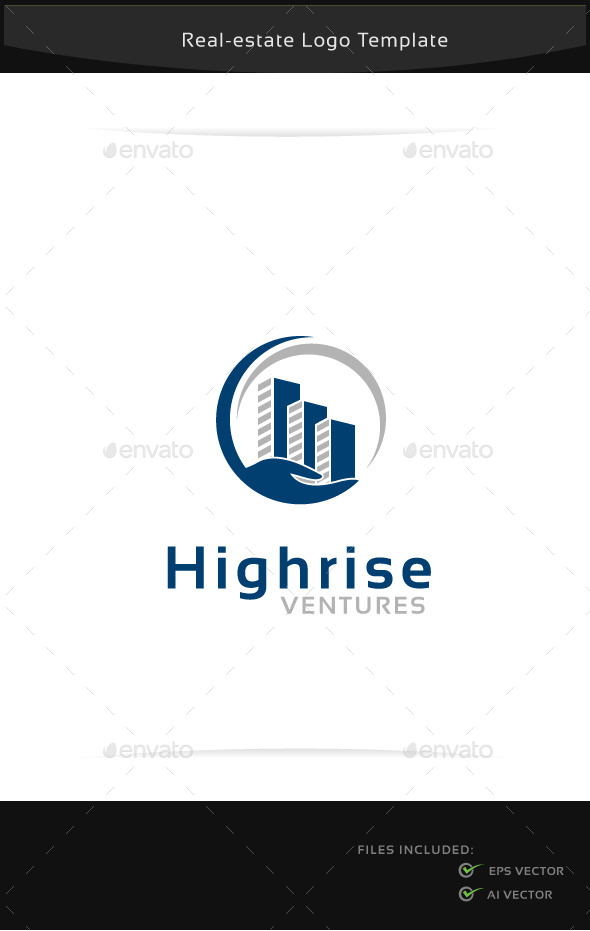 GraphicRiver Highrise Ventures Logo Template 10790382