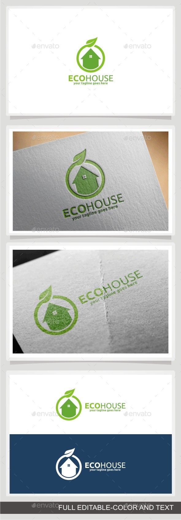 GraphicRiver Eco House Logo 10791560