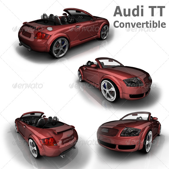 Audi TT Convertible - 3DOcean Item for Sale