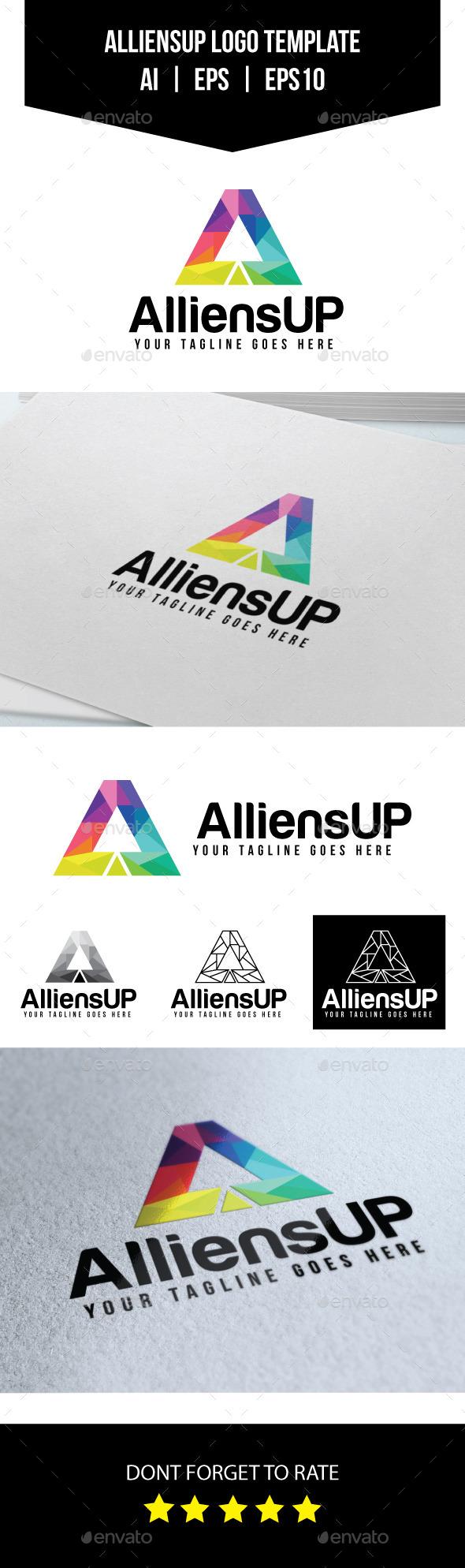 GraphicRiver A Letter Logo Template 10792052