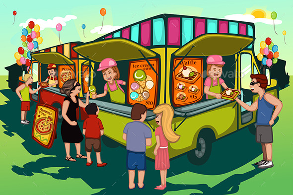 GraphicRiver Food Truck Festival 10792771