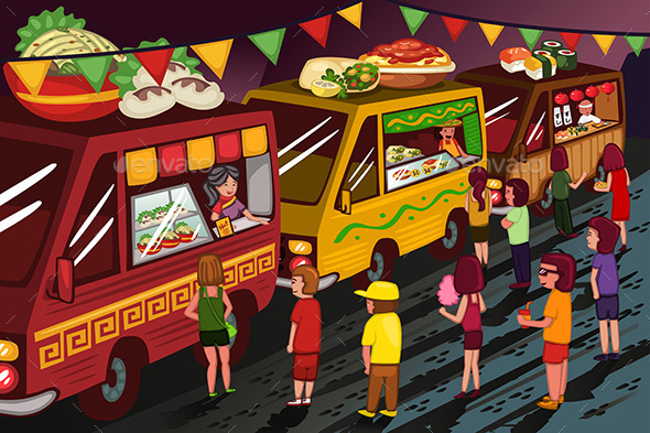 GraphicRiver Food Truck Festival 10792777