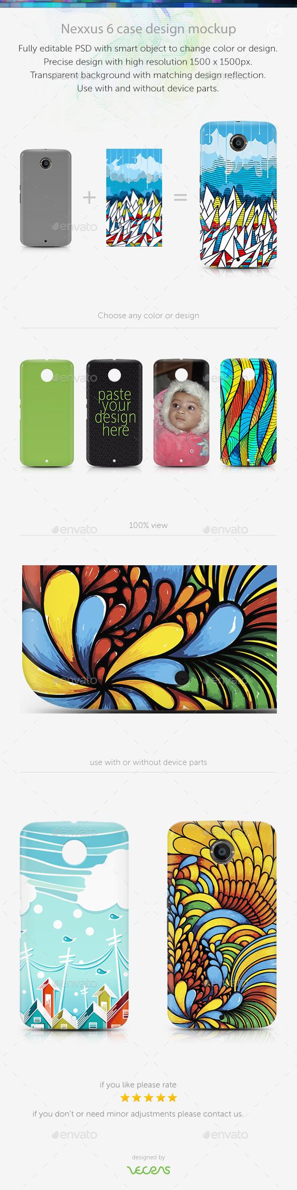 GraphicRiver Nexxus 6 Case Design Mockup 10792795