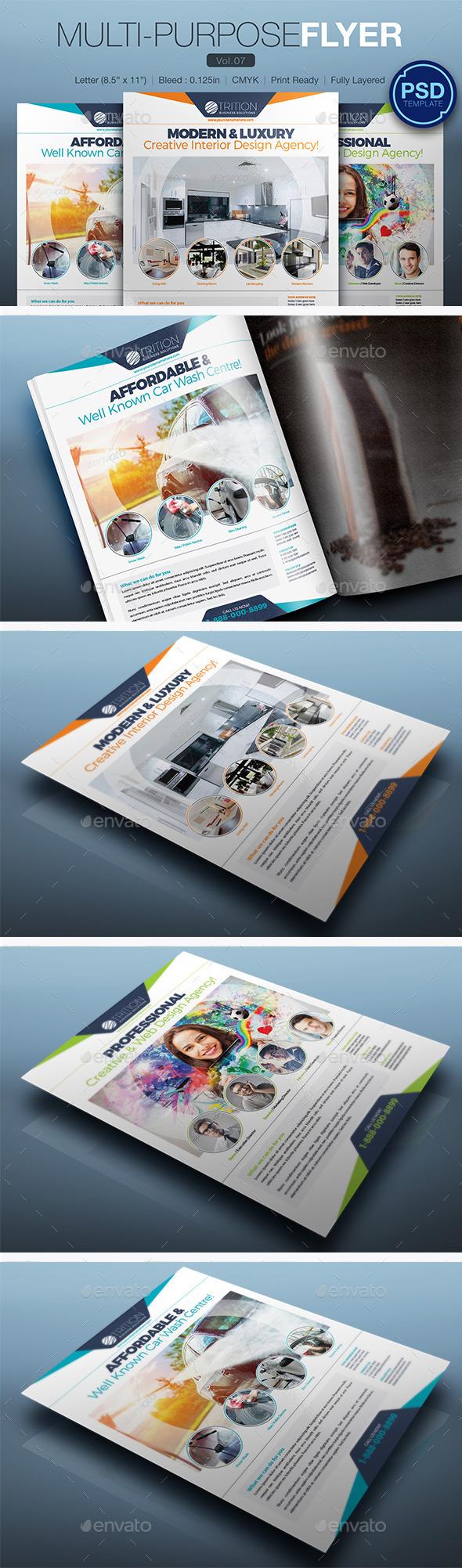 GraphicRiver Multipurpose Flyer Vol.07 10793915