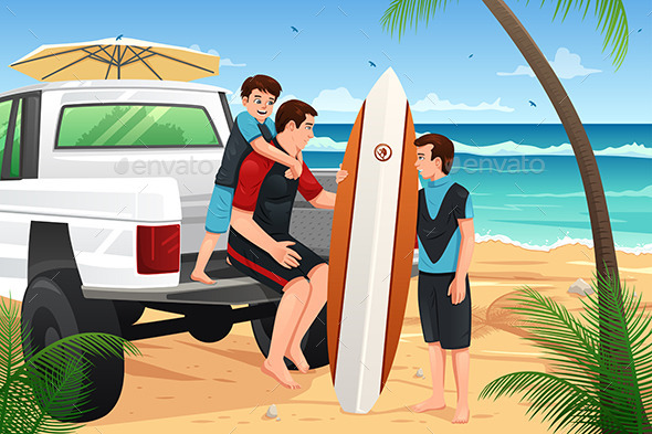 GraphicRiver Beach Vacation 10794144