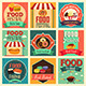 Food Festival Icons - GraphicRiver Item for Sale