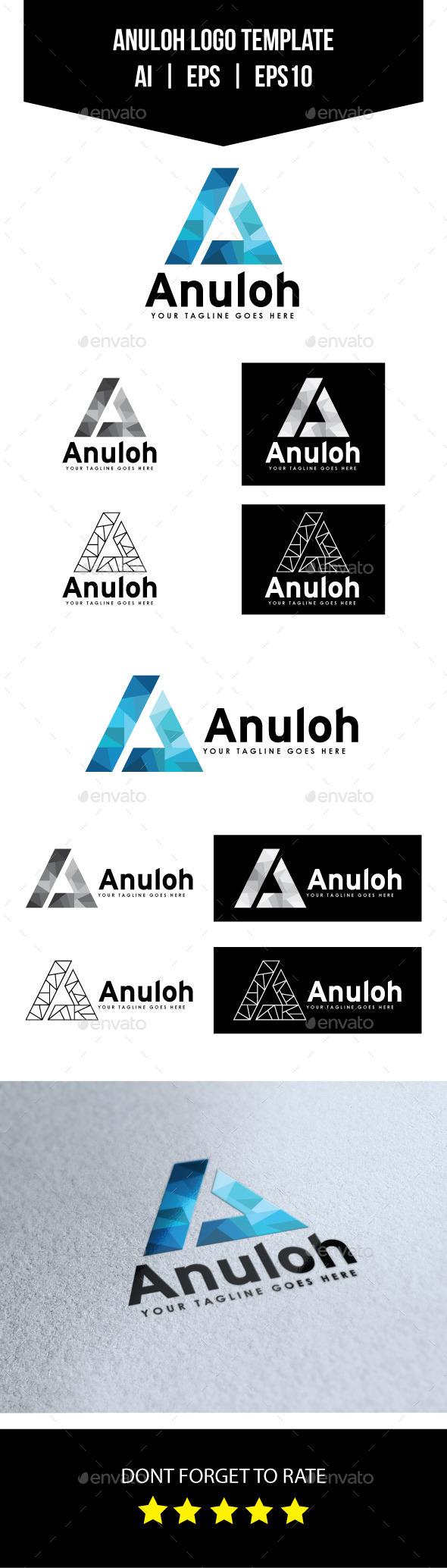 GraphicRiver A Letter Logo Template 10794607
