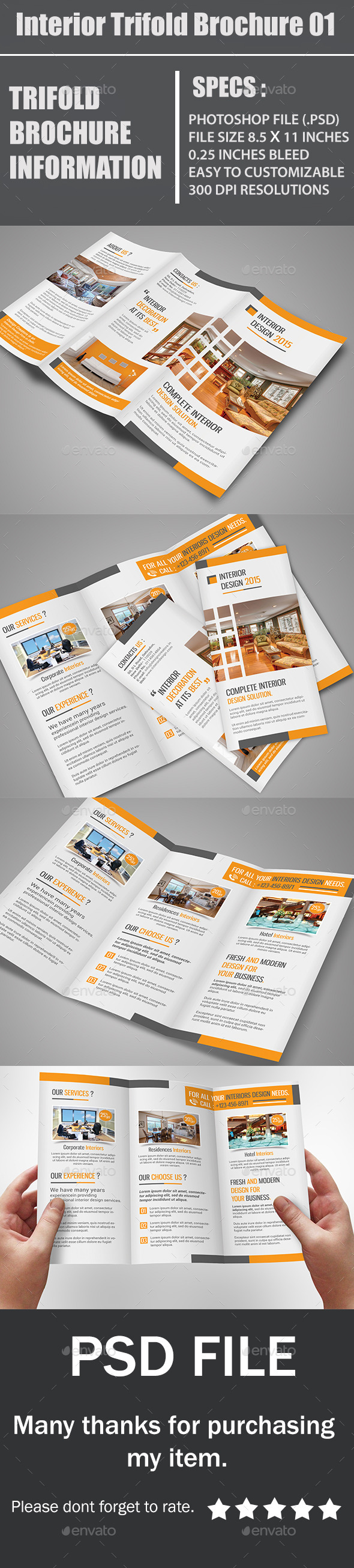 GraphicRiver Interior Trifold Brochure 01 10794614