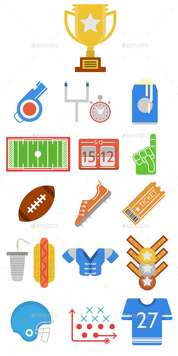 GraphicRiver American Football 10795195