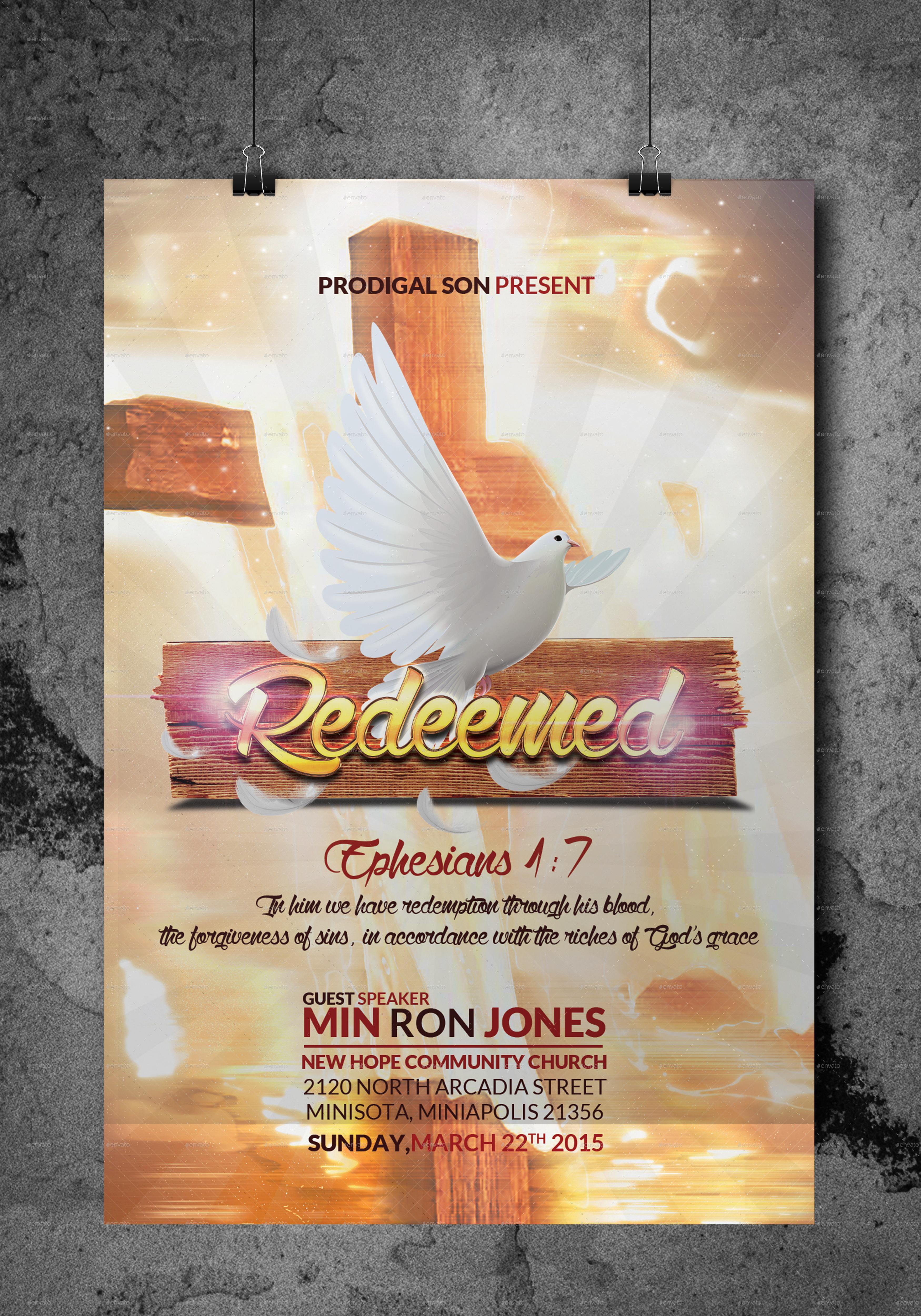 redeemed church flyer by kill bill graphicriver redeemed church flyer jpg preview 1 jpg preview 2 jpg