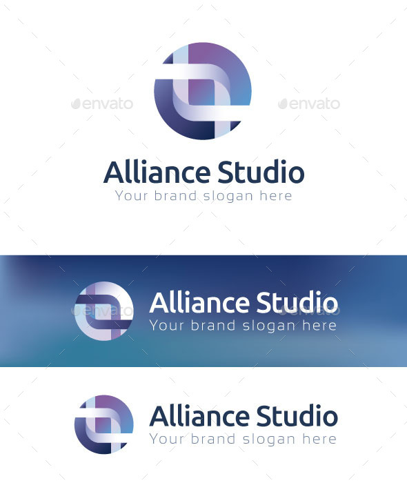 GraphicRiver Alliance Studio Logo Template 10795260