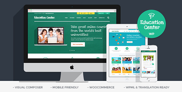 ThemeForest Education Center Training Courses Wordpress Theme 10652918