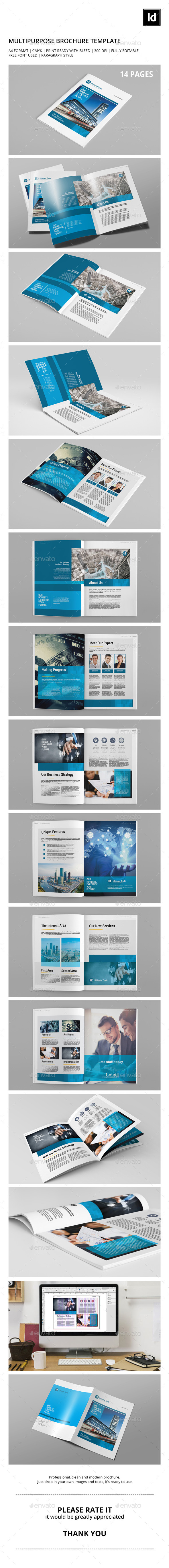 GraphicRiver Multipurpose Corporate Brochure 10731066