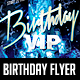 Birthday VIP Party Flyer - GraphicRiver Item for Sale