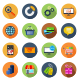 E-commerce Circle Icons - GraphicRiver Item for Sale