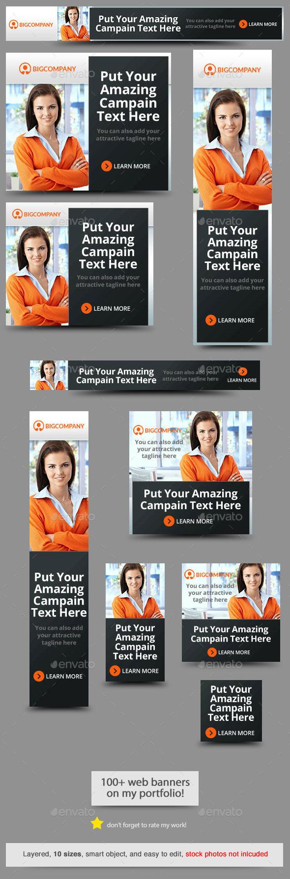 GraphicRiver Corporate Web Banner Design Template 59 10796118