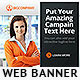 Corporate Web Banner Design Template 59 - GraphicRiver Item for Sale