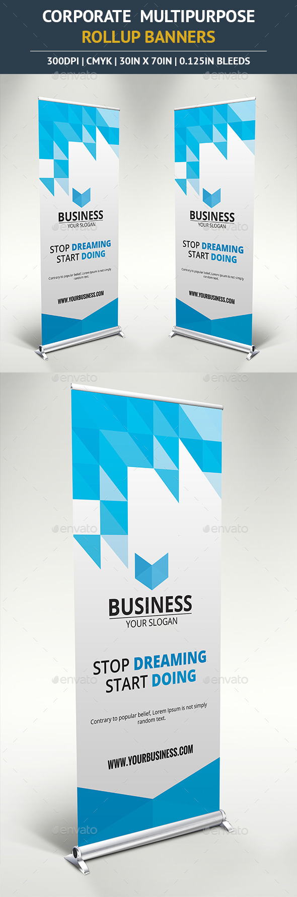 GraphicRiver Rollup Banner vol14 10796540