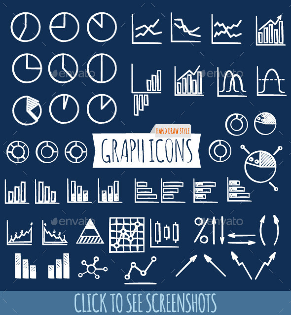 GraphicRiver Hand Draw Graph Icons 10778880