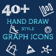 Hand Draw Graph Icons - GraphicRiver Item for Sale