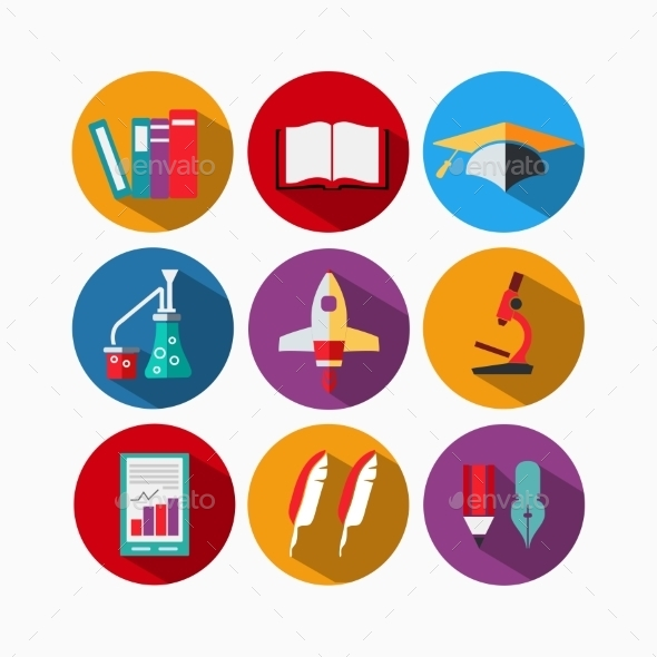 GraphicRiver Icons Flat 10796787