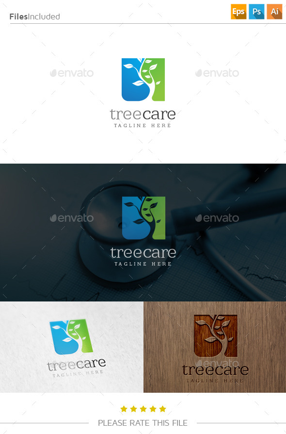 GraphicRiver Tree Logo 10796913