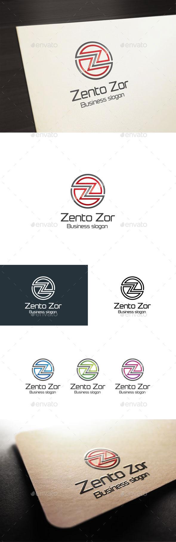 GraphicRiver Zento Zor Letter Z Logo 10796919