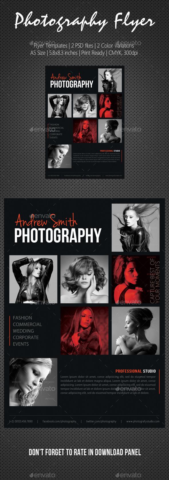 GraphicRiver Photography Studio Flyer 15 10796951