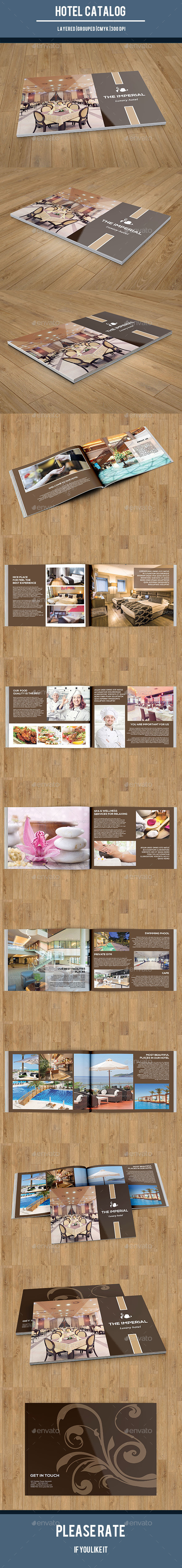GraphicRiver Hotel Business Catalog Brochure-V156 10797054